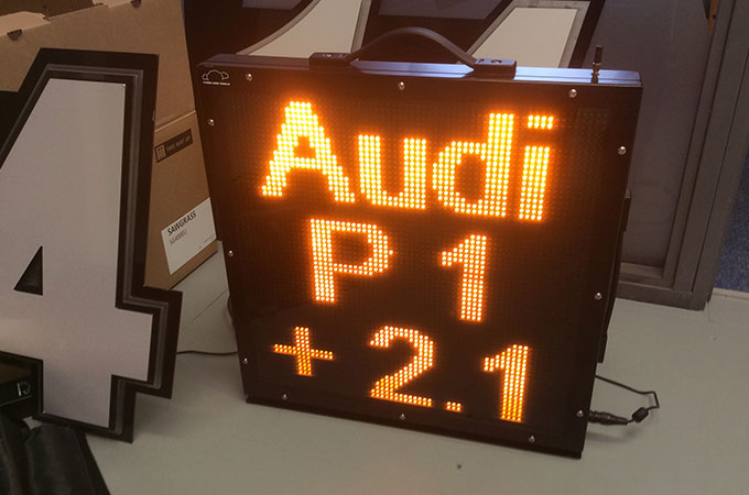 led number board