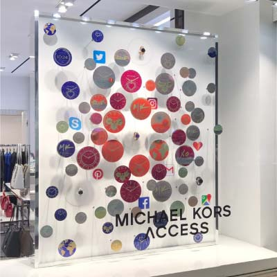 Michael Kors window display